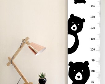 Three Bears Canvas Height Chart