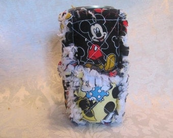 Mickey and Minnie Mouse Inspired 12oz Beer/Pop Can Cover/ Cozy / Cozie/ Can Holder/ Beer Can Cozy