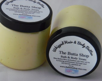 Whipped Hair and Body Butter
