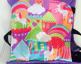 Doll Carrier- Once Upon a Tula 4- Tula Print fits ages 2-8