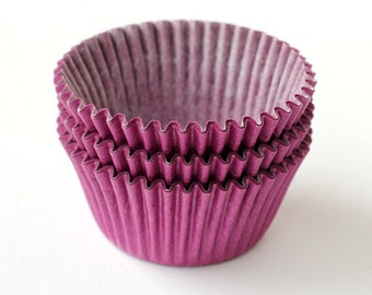 Purple Cupcake Liners (100), Purple Baking Cups