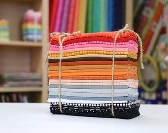 Me + You INDAH Batik fat Quarter Bundle by Hoffman Fabrics (24 FQs)
