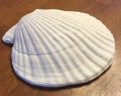 Seashell Cake Topper, Large Shell, Beach Wedding Cake, Seaside, Natutical wedding