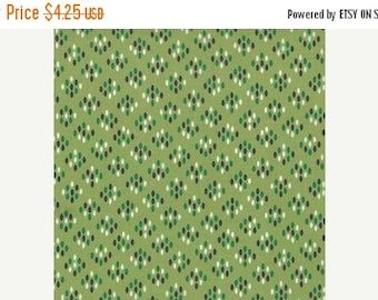 SuperBowl Sale Color Me Happy from V and Co and Moda fabrics, Cluster Drops Light Green, 1/2 yard total