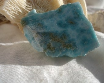 Larimar Slab #4 - Soul Mate - Twin Flame Stone - Sacred Union