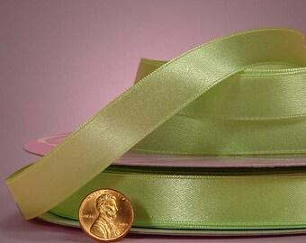 """1/4"""" Satin Ribbon - Mint Green"""