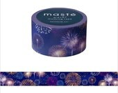 Mark's Japanese Washi Masking Tape - Japan Series / Japanese Fireworks 20mm wide for packaging, party deco, crafting