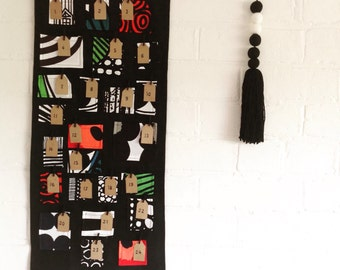 Marimekko Advent Calendar christmas wall hanging