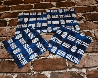 Dr Who Coaster Set of 4