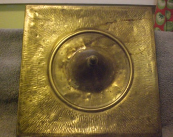 vintage brass decorative urn top for unusual  accent decor