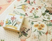 Flowers cartoon floral Sealing Stickers