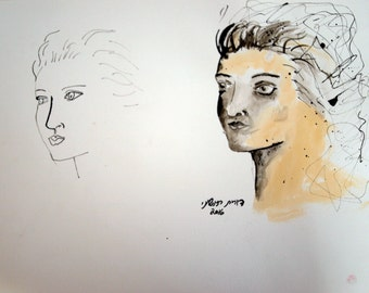 doubled portrait