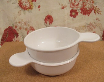 """Pair of Corning Ware """"Grab It""""  15oz.  Bowls - P- 150 -B  - Great Condition"""
