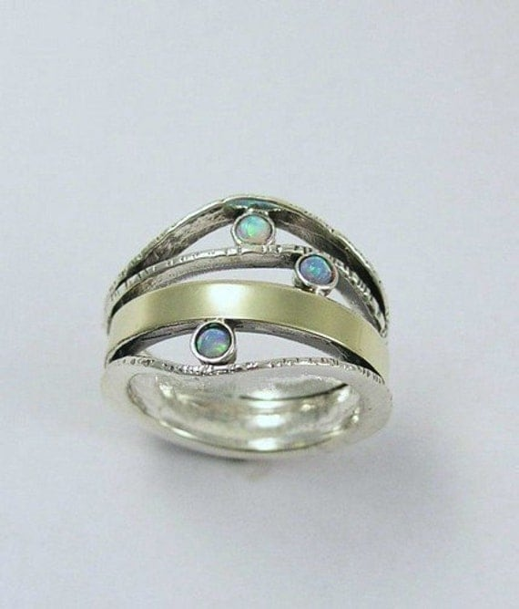 Thin Band Mothers Ring