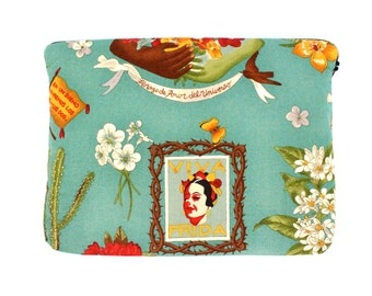 Viva Frida Inspired Ipad / Tablet Sleeve