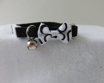 Cat Collar with bell  Cat  Breakaway Collar Custom Made
