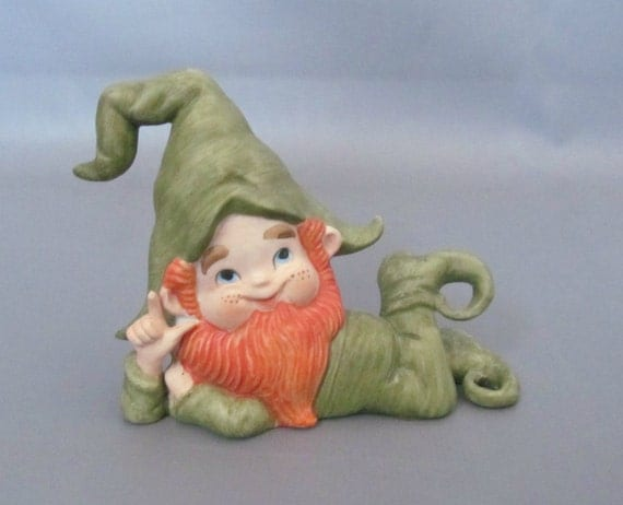 Lefton Irish Leprechaun Figurine