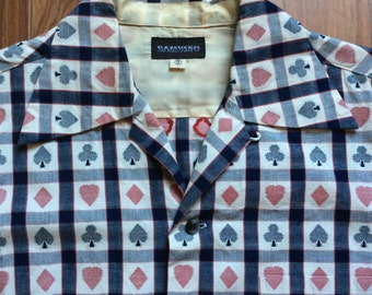 Bambino Japanese Rockabilly Shirt - Amazing Vintage Pattern Japan Reproduction