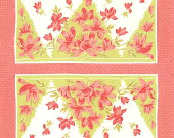 Aloha Girl by Joanna Figueroa/Fig Tree & Co for Moda ~ 100% Cotton PANEL ~  Hibiscus 20240-14