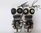 Goth Doll Zombie Horror Gothic Art Doll