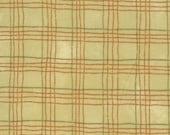 Adoring fabric - Moda - red plaid on cream - Christmas fabric - OOP/HTF