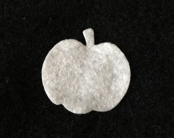 Felt White Small Pumpkins-DIY Kits for Independent Consultants Parties-Accessories Decorations-Embellishments-Wax Dipping Pumpkin Appliques