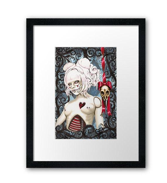 Broken Doll framed print