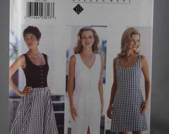 Butterick 4540, Misses' Dress Sewing Pattern, Easy Dress Sewing, Sewing Pattern, Eileen West, Size 6, 8, 10, 12, Uncut