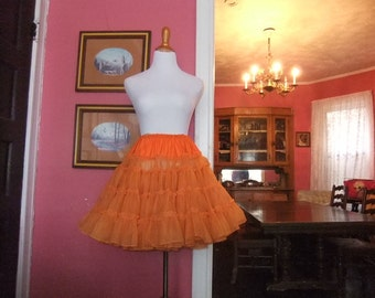 Orange Petticoat