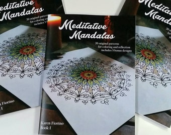 ON SALE NOW! Mandala Coloring Book for Adults and Young Adults  25 Original Designs - Mandala Patterns - Mandala Designs - Colouring Book
