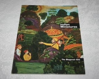 Vintage Book Indian Miniatures Art Work Poems Stories