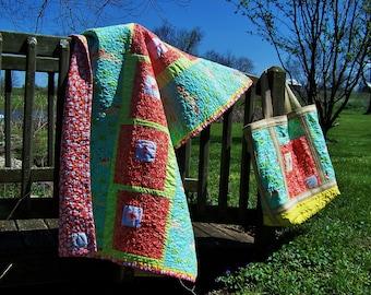 baby beach picnic nursery lap quilt