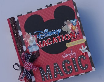 Disney Premade Scrapbook Album with Journal Cards Just add photos!