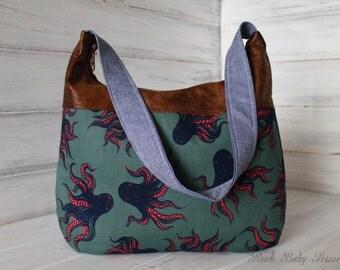 Design Your Own Custom Amelia Hobo Bag with Shoulder or Adjustable Strap
