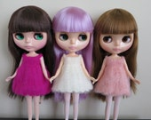 Fluffy Mohair Crochet Blythe Dress