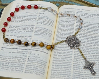 RESERVED for Theresa -  St Kateri  Chaplet