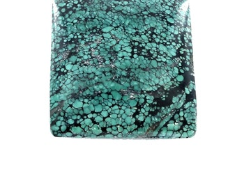 CHINESE TURQUOISE CABOCHON Square  42.7mm
