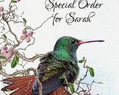Special Order For Sarah