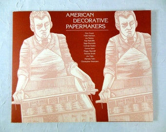 Marbling Sample Book - American Decorative Papermakers - Paper Art, Surface Design