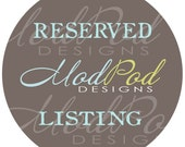 Reserved Listing for ohsweetcharlotte