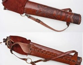 "The Ultimate Broad-heads Friendly Hunting Quiver ""Celtic Serpents"""
