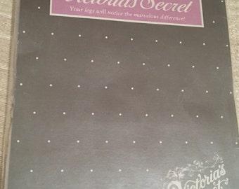 Ultrasheer White Demi Toe Vintage VICTORIA'S SECRET Stockings C NOS