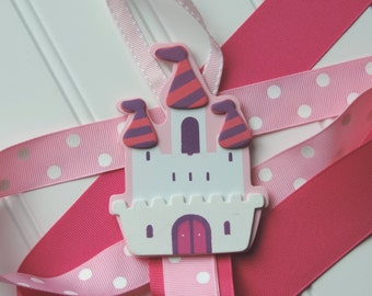 SPECIAL PRICE - 30% OFF - Hairbow and Headband Organizer - Princess Castle