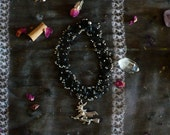 Witch choker, witchcraft, wicca, wiccan, witchy necklace, goth jewelry