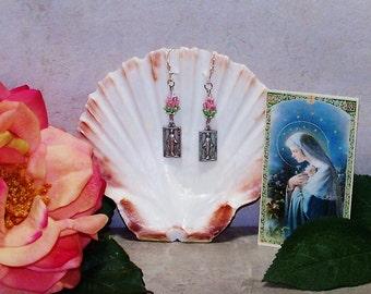 Mary's Roses Earrings
