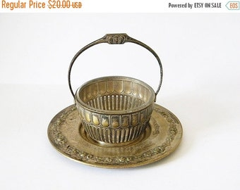 Sale 30% french dish and plate small vintage dish and plate