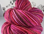 Handspun Yarn Gently Thick and Thin Fine Sport Single Targhee 'Love and Luck' Koigu