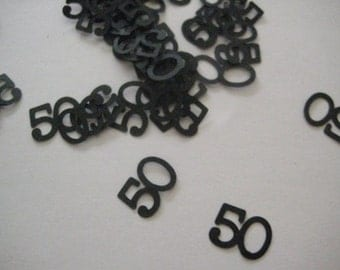 50, 60, 70, 80, 90 Over the Hill Table Scatter or Confetti for Birthday or Anniversary