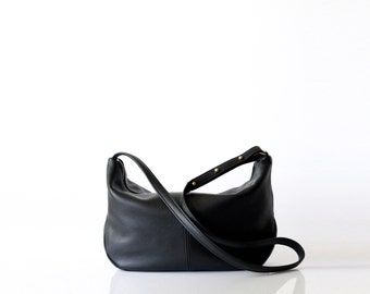 Soft leather sling bag OPELLE Roberta Sling bag hobo handbag