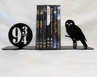 Metal Bookends, Movies, Books, Owl, Organizer